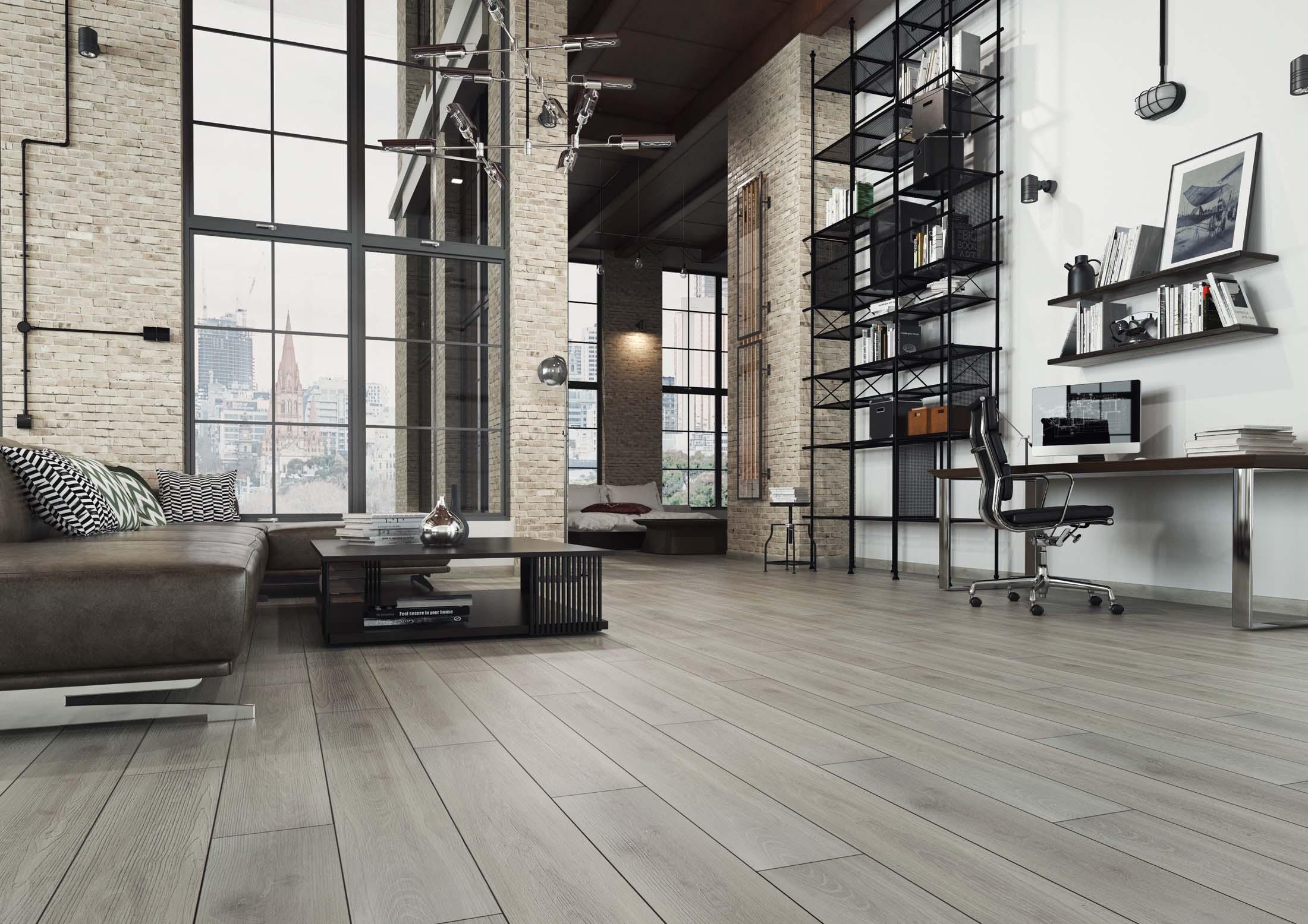 Nowoczesne panele podłogowe dosalonu