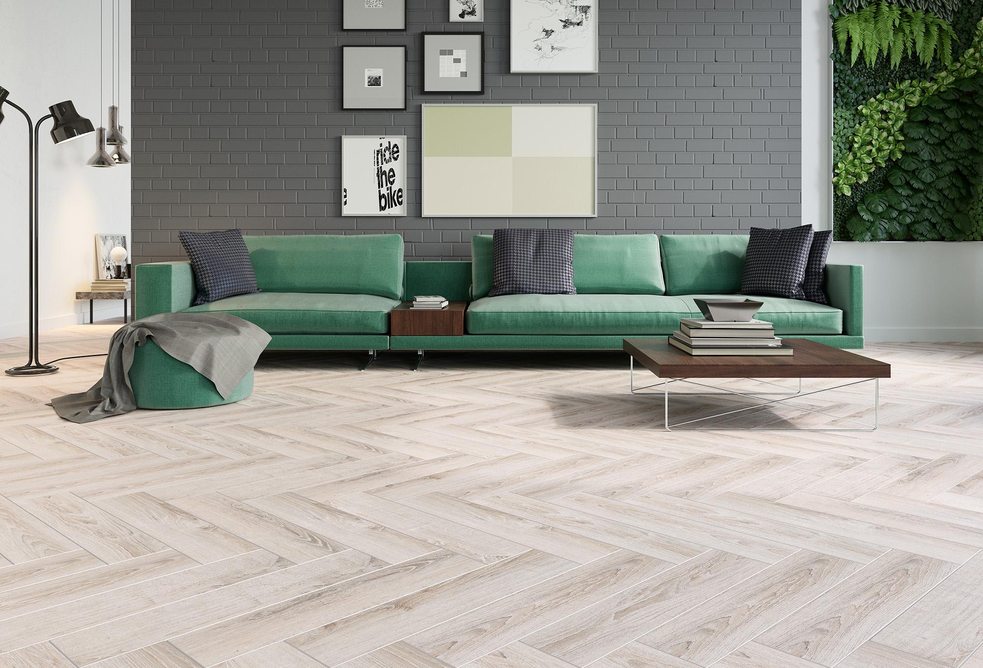 Podłoga ułożona wjodełkę – kreatywne ułożenie paneli podłogowych